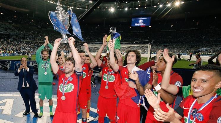ПСЖ спечели трета поредна Купа на Франция (видео)