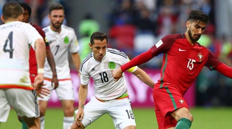 Гол в последните секунди донесе точка на Мексико срещу Португалия (видео)