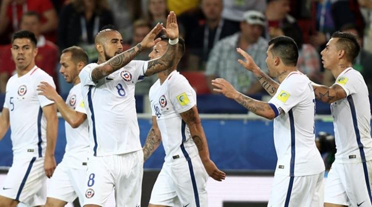 Чили надви Камерун с две късни попадения (видео)