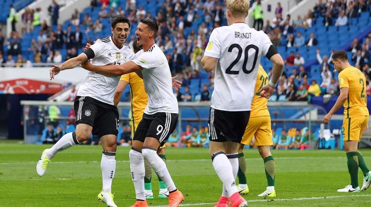 Германия надви Австралия в резултатен мач (видео)