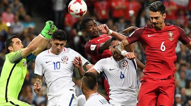 Уникален вратар прати Чили на финал след драма с дузпи срещу еврошампиона (видео)