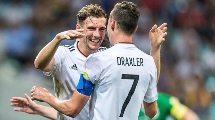 Германия е вторият финалист за Купата на Конфедерациите (видео)