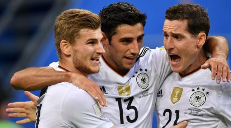 И отново Германия е властелинът на футбола (видео)