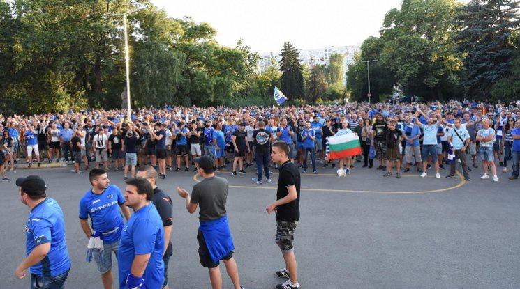 """Биячите от """"Младост"""" се оказаха фенове на Левски"""