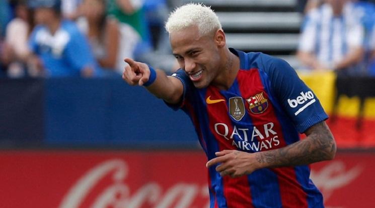 Вижте прощалното изявление на Неймар към Барселона