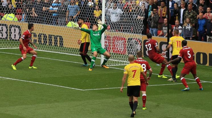 """Уотфорд и Ливърпул си вкараха по три гола на """"Викаридж Роуд"""" (видео)"""