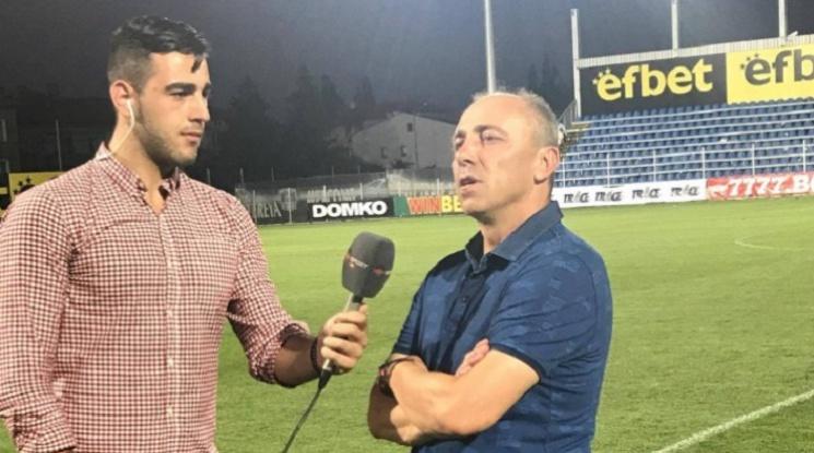 Илиев: Локо Пловдив може да играе добър футбол