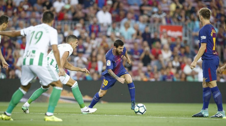 Барса с резонна победа на старта на Ла Лига (видео)