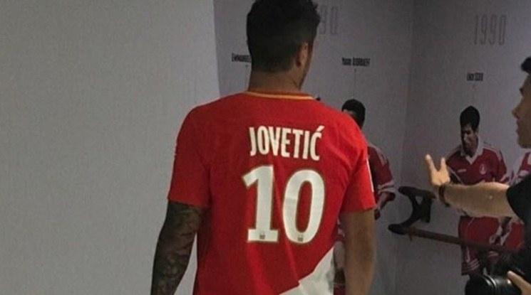 Йоветич взе номер 10 в Монако