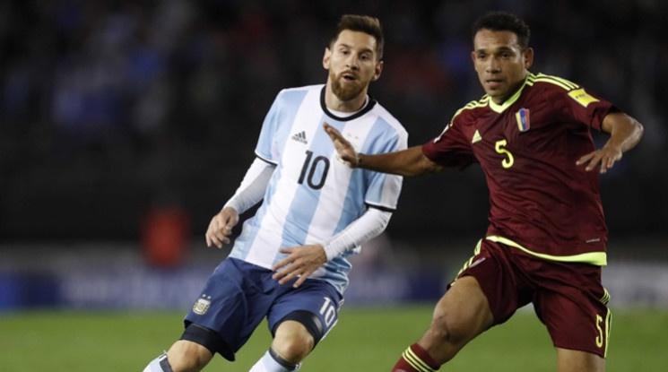 Нова грешка за Аржентина в квалификациите