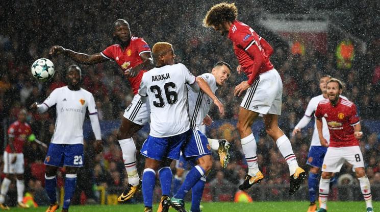 Ман Юнайтед се завърна в лигата на най-добрите с класика срещу Базел(видео)