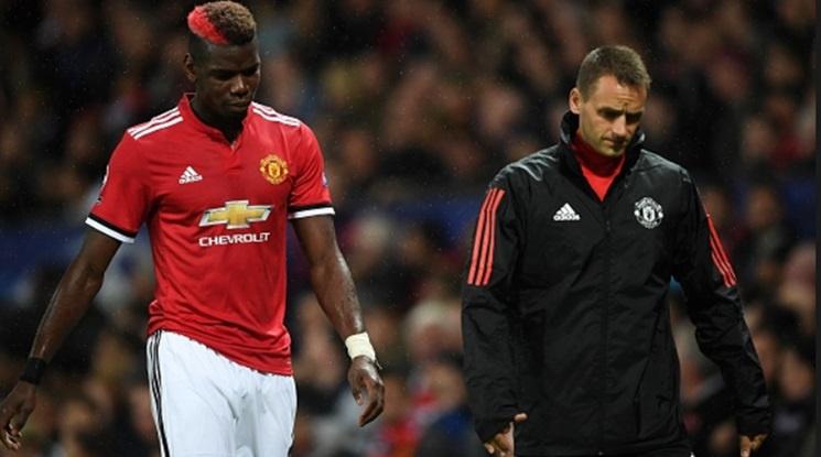 Юнайтед остава без Погба за няколко седмици