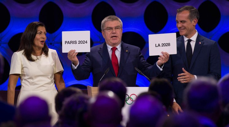 Париж и Лос Анджелис ще са домакини на олимпийските игри през 2024 и 2028 година
