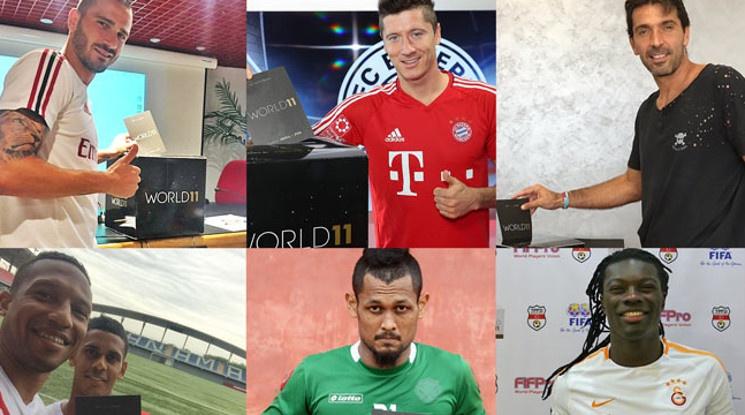 Вижте номинираните за Идеалния отбор в света за сезона