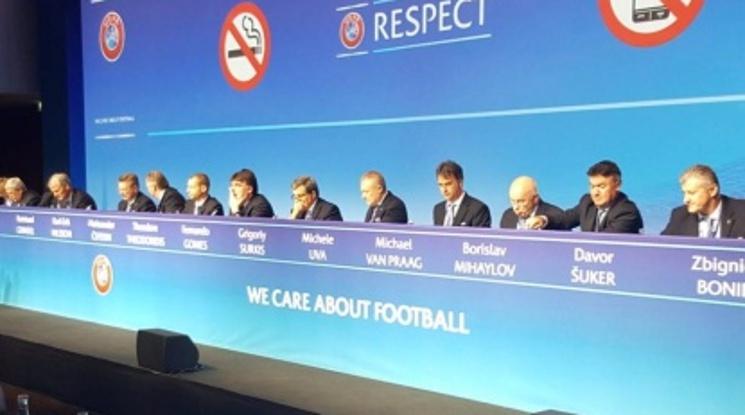 Боби Михайлов взе участие в извънреден конгрес на УЕФА