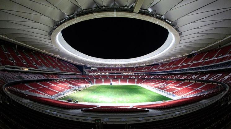 Новият стадион на Атлетико приема финала на ШЛ