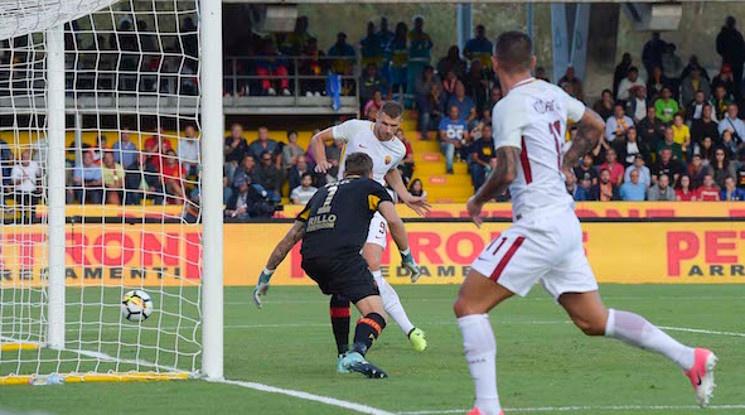 Рома разби Беневенто като гост (видео)