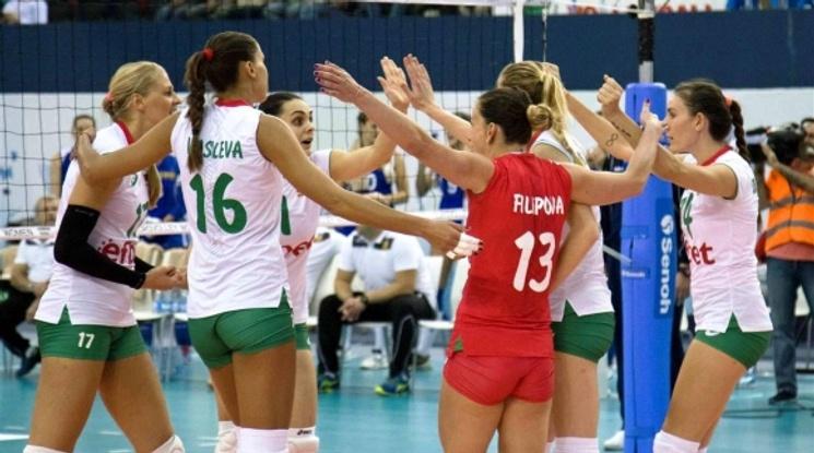 Женските ни национали започнаха с победа на Евроволей 2017