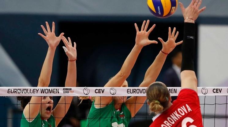 България изпусна да победи Русия на Евроволей 2017