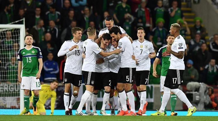 Германия се класира директно на Световното първенство (видео)