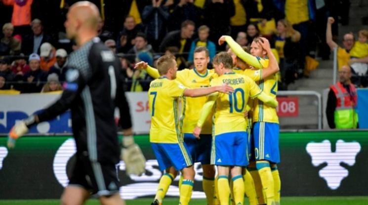 Швеция громи с 8:0 (видео)