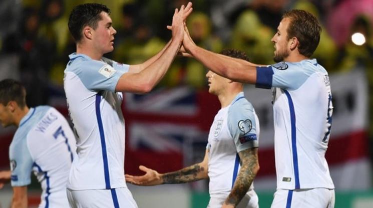 Англия пречупи Литва с гол от дузпа (видео)