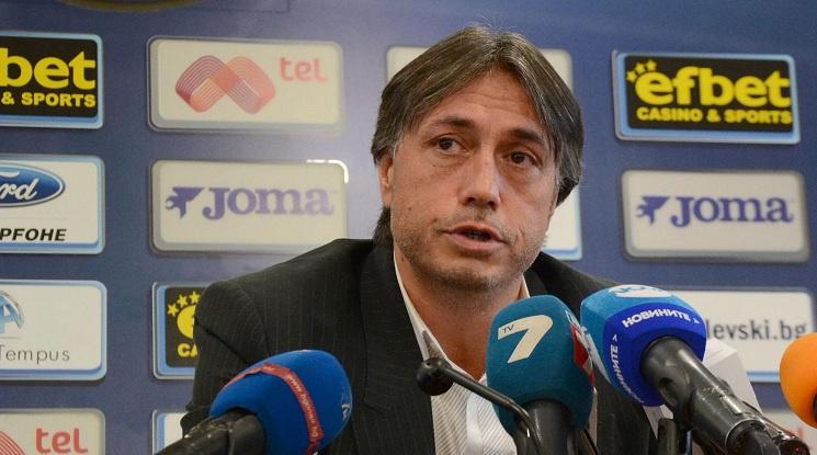 Иво Тонев дава подкрепа на Локо София