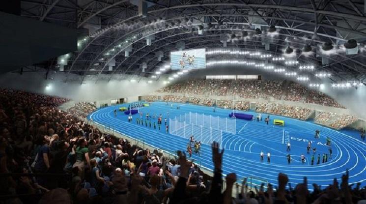 """Откриват зала """"Арена Бургас"""" през 2019 година"""