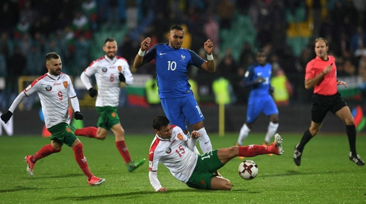България се изкачи на 36-о място в ранглистата на ФИФА