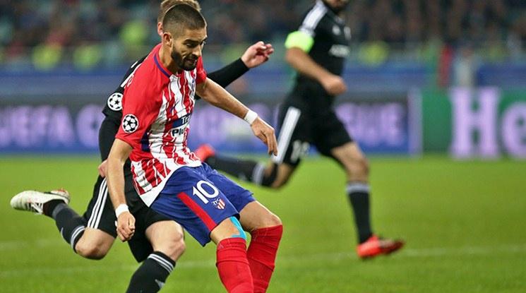 Атлетико с единия крак аут от Шампионската лига (видео)