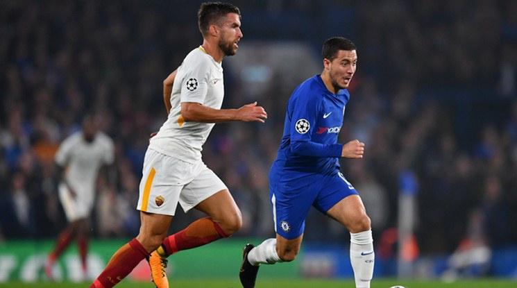"""Рома обърна Челси от 0:2 до 3:2, но """"сините"""" взеха точка (видео)"""