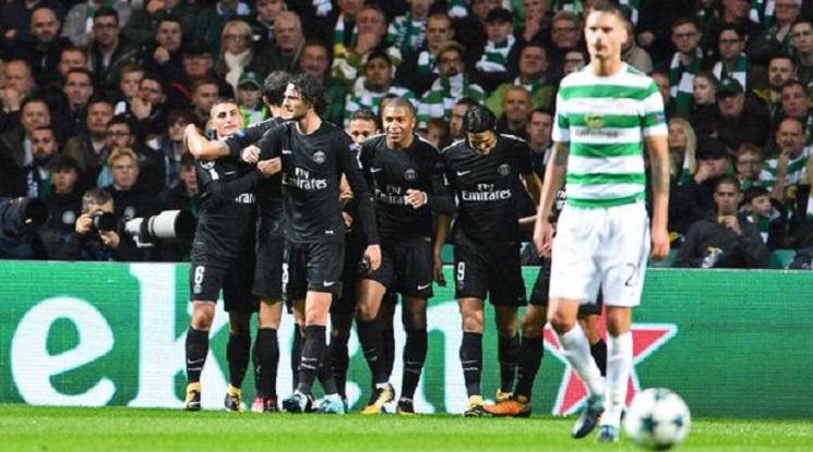 УЕФА наказа Селтик и ПСЖ заради феновете