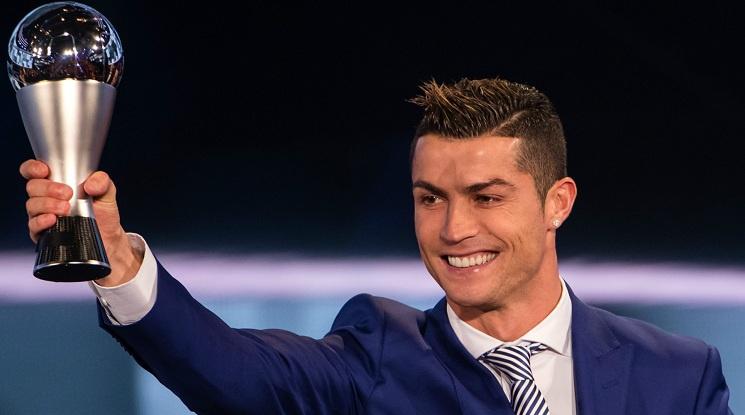 Кристиано Роналдо отново е Футболист на годината