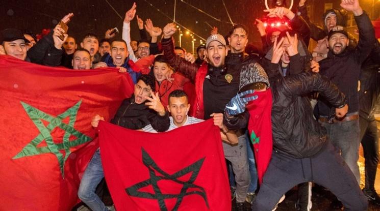22-ма полицаи са пострадали при сблъсъците с мароканци в Брюксел (видео)