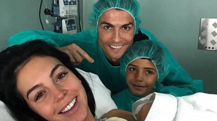 Роналдо стана баща за четвърти път