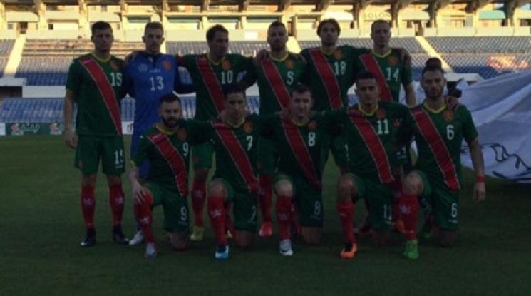Националите се прибраха в България