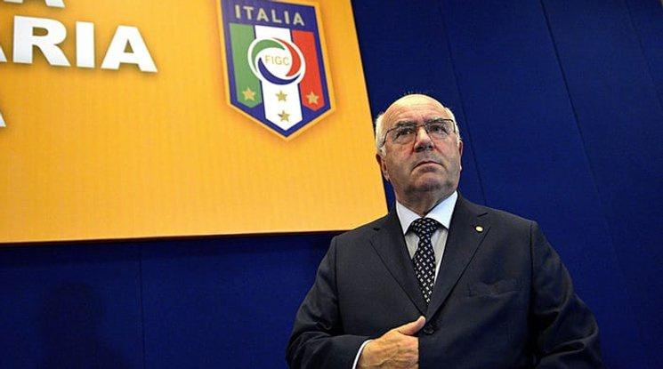 Обвиниха бившия шеф на Италианската федерация в сексуален тормоз
