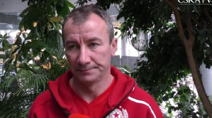 Стамен Белчев се ядоса и изгони нападател от ЦСКА (видео)