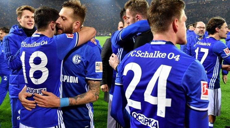 Удивително! Шалке 04 навакса четири гола в дербито с Борусия (Д) (видео)