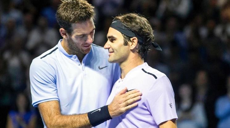 Битките между Дел Потро и Федерер в петицата на най-добрите за сезона