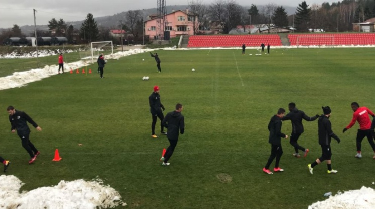 ЦСКА започна подготовка за Витоша