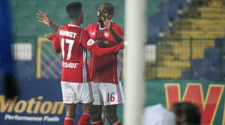 ЦСКА-София излезе начело в Първа лига след успех над Витоша Бистрица