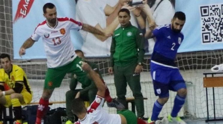България и Кипър завършиха наравно в контрола