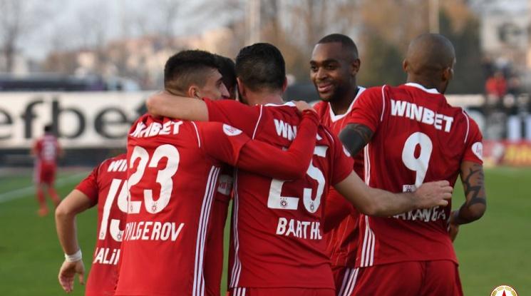 Зимната селекция на ЦСКА преди лагера в Испания