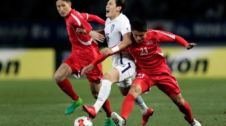 Южна Корея надигра Северна Корея в Токио