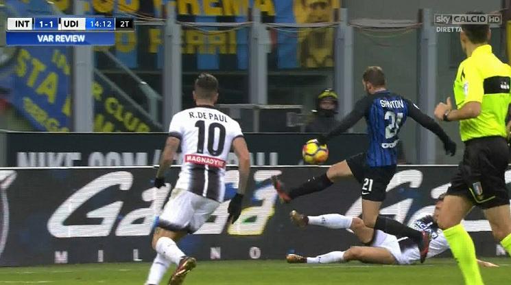 Интер допусна първа загуба за сезона (видео)