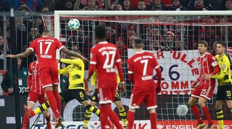 Байерн подчини Дортмунд в Мюнхен (видео)
