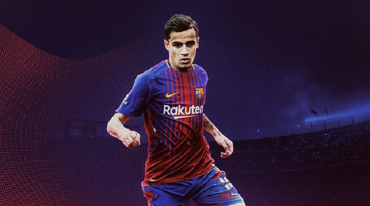 Официално: Ливърпул продаде Филипе Коутиньо на Барселона