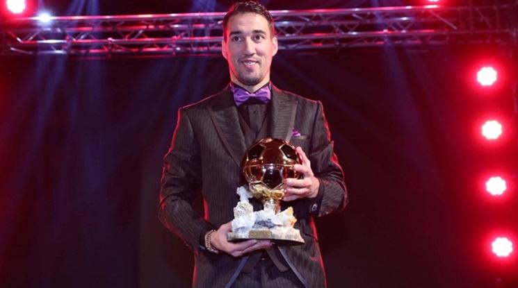 "Попето стана ""Футболист на годината"" за трети пореден път"