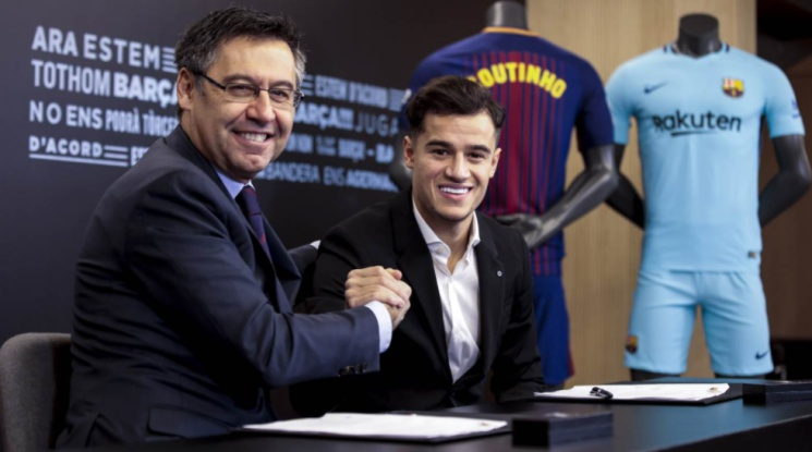 Официално: Коутиньо подписа с Барселона до 2023 г.